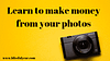 how to make money from photography